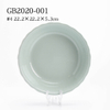 Stoneware Transparent Glaze 30pcs Dinnerware Set