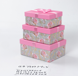 3pcs nesting rectangle boxes