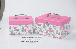 2pcs nesting carry boxes