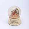POLY NATIVITY WATERING BALL WITH MUSICL