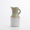 Ceramic Rustic Glazed Pitcher with Handle